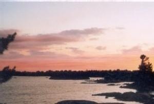 Sunset on Georgian Bay, Pointe au Baril, ON