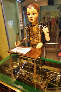 "The ""draughtsman"" automaton created by Henri Maillardet around 1800."