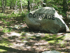 Courage boulder